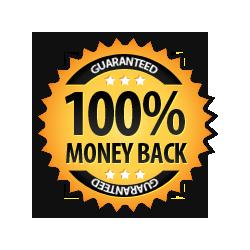 Money Back Guarantee 100% -