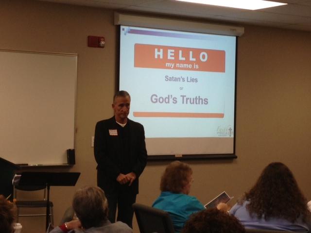 Dale Fletcher leading a helath Bible Study