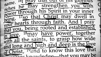 Holy Spirit gives power