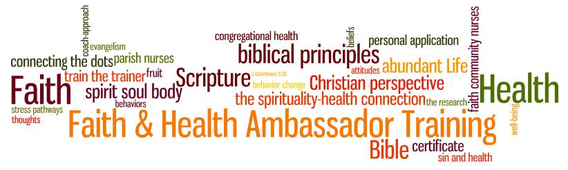Health and Faith Training