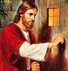 Jesus is knocking on your heart