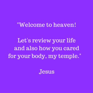 Judgement Seat of Jesus - Caring for the temple of the Holy Spirit