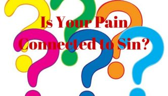 Sin and Pain - How it's connected