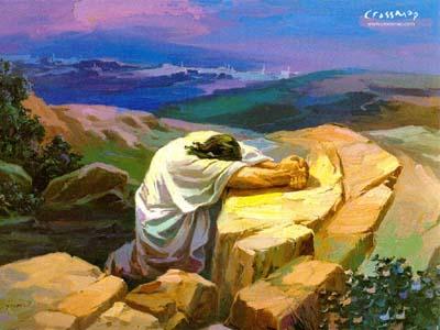 Jesus Praying2