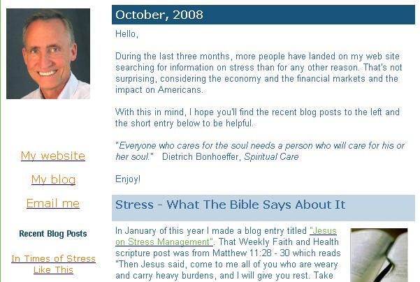Oct 2008 Newsletter
