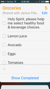 god can help you make healthy choices