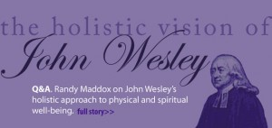 John wesley wellnes and health